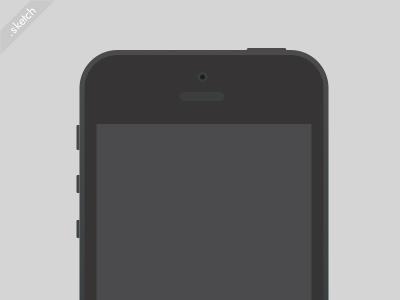 Simple vector Apple iPhone Sketch freebie Sketch freebie ...
