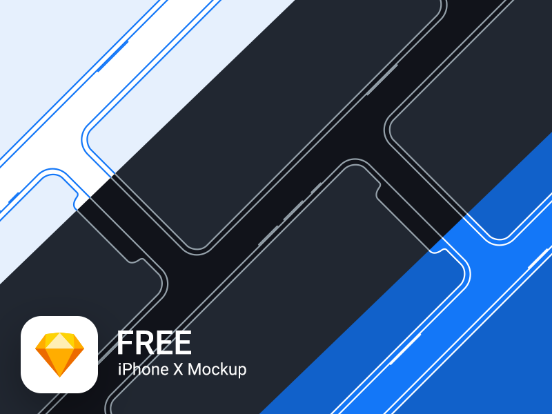 iPhone X Mockup Kit