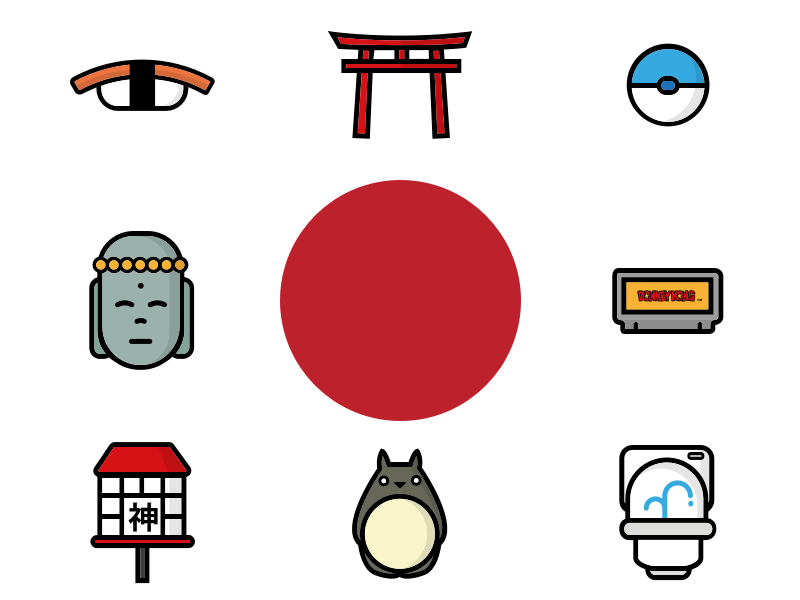 10 Japan Icons