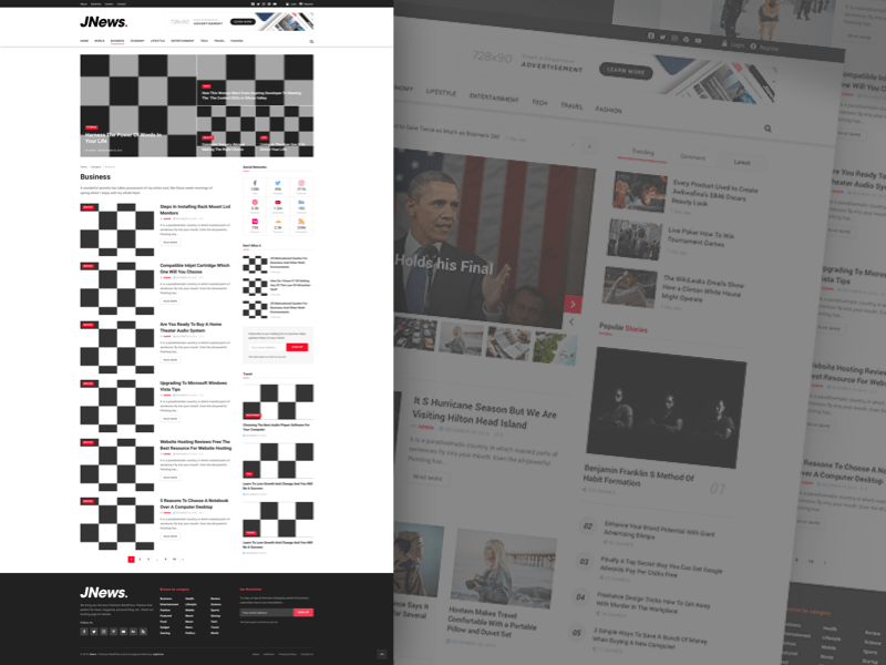 JNews - Website Template