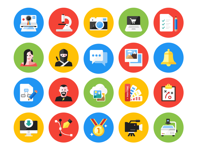 Kameleon Free Icon Set
