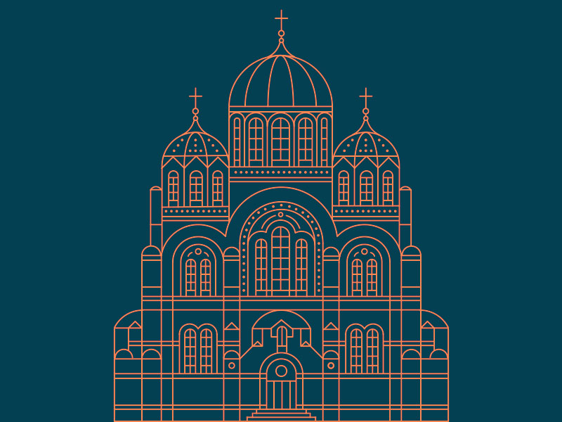 Cathedral Illustration