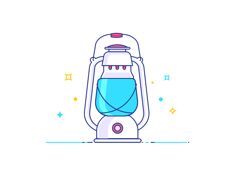 Lantern Illustration