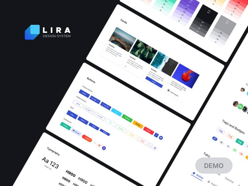 Lira Design System Demo