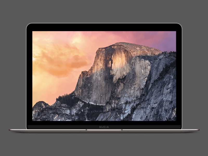 Space Grey Retina MacBook