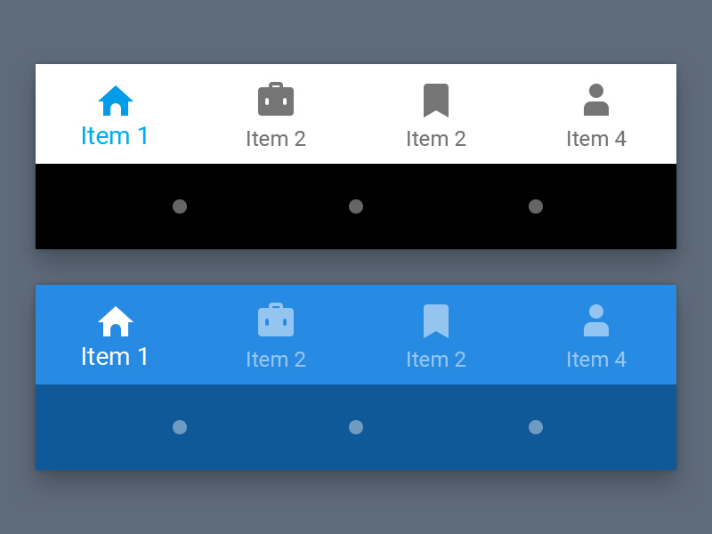 material bottom nav bar sketch freebie download free resource for