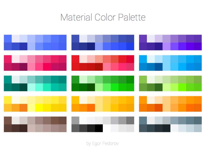 Material Color Palette Sketch Freebie Download Free Resource For