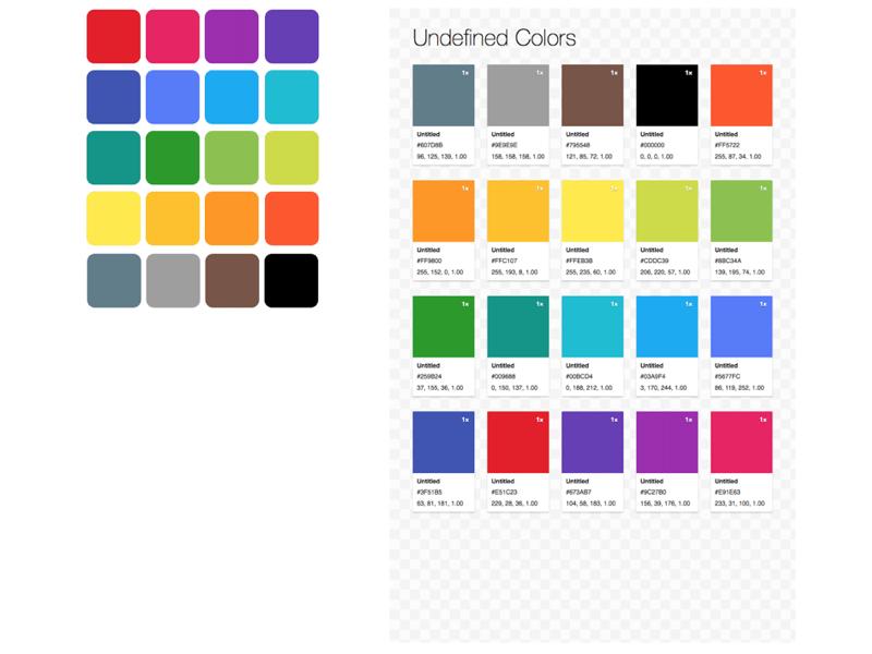 Material-colors - npm
