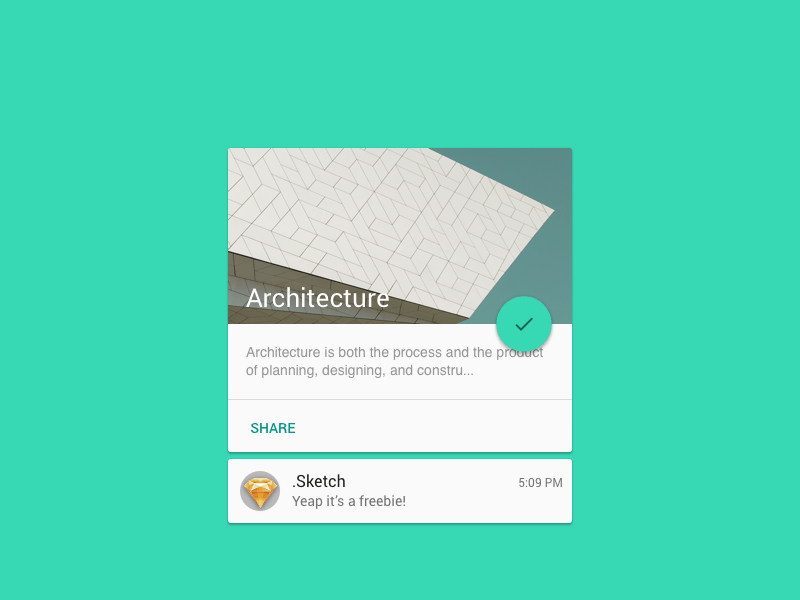 Material Card Sketch Freebie Download Free Resource For