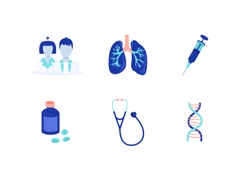 6 Medical Illustrations