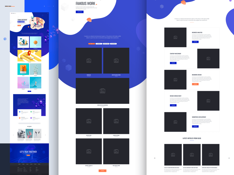 MI Creative Agency Template