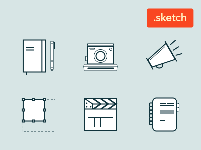 Font Awesome Sketch Symbols Sketch freebie - Download free resource