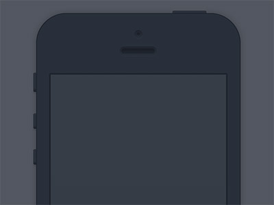 Minimal iPhone Dark Realism