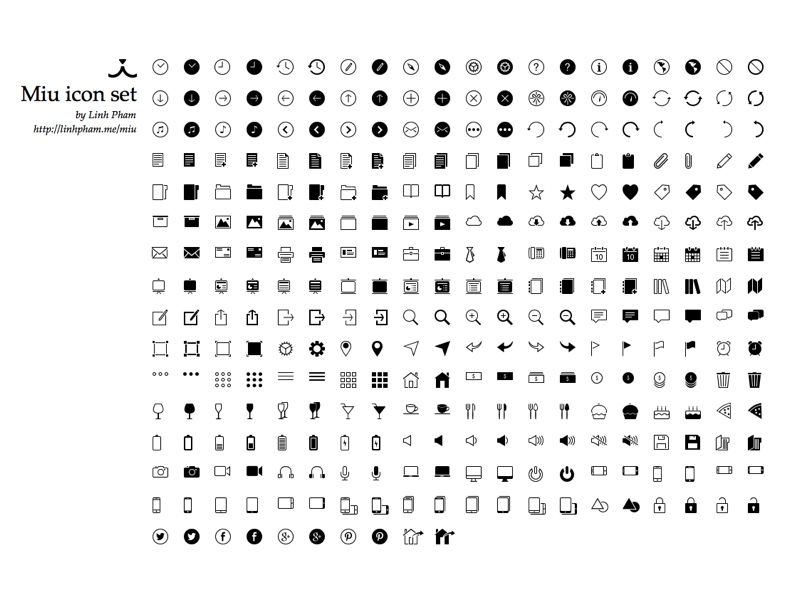 miu iconset svg freebie