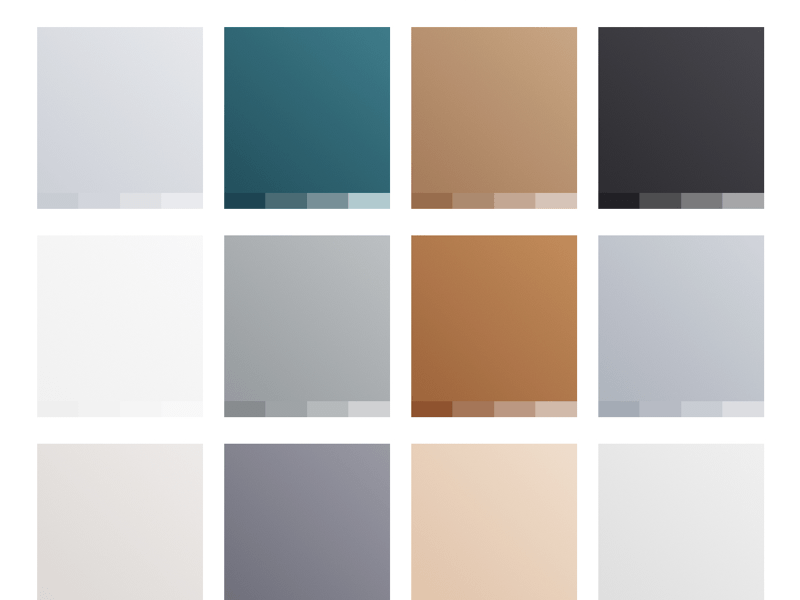 Modern Subtle Gradients