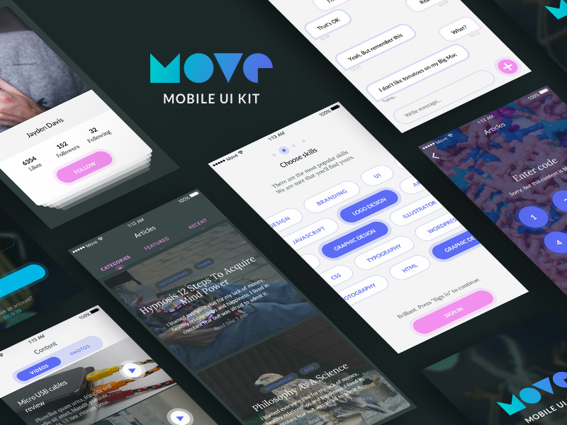 Move iOS UI Kit