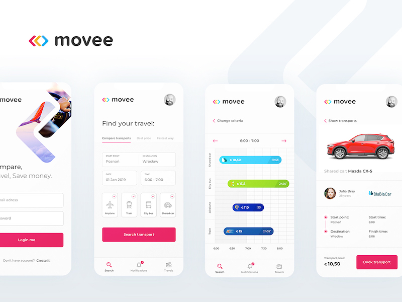 Movee - Compare Transportation