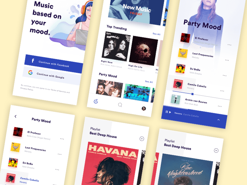 Small Music App Concept