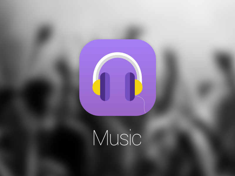 Music App Icon Sketch freebie - Download free resource for