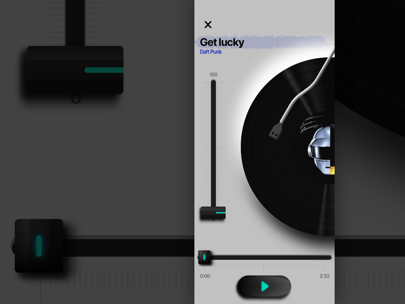 Music Player Concept App