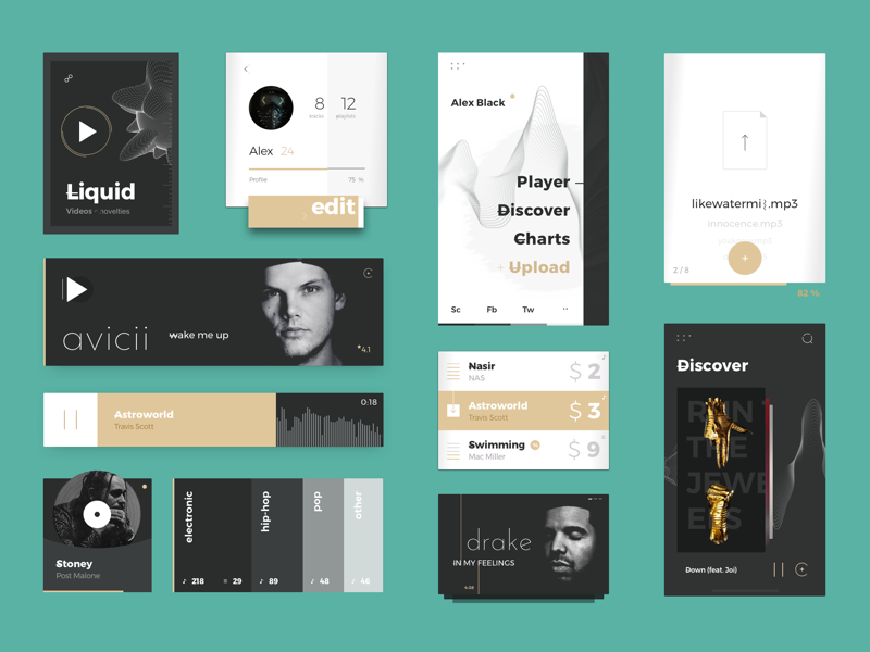 Music UI Kit