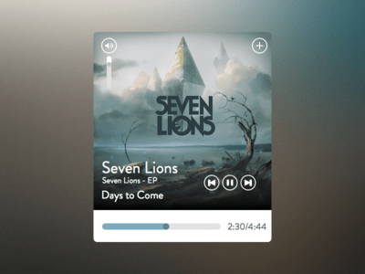 Music Player Layout Sketch Freebie Download Free Resource For