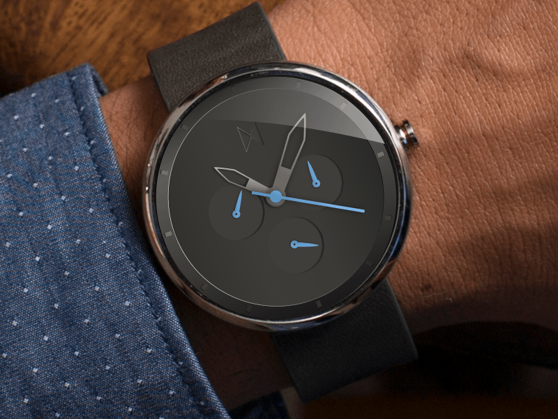 Mvmt Watch Face For Moto 360 Sketch Freebie Download