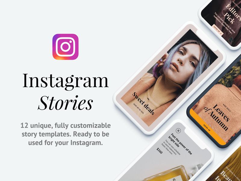 12 Instagram Story Templates Sketch Freebie Download Free Resource For Sketch Sketch App Sources