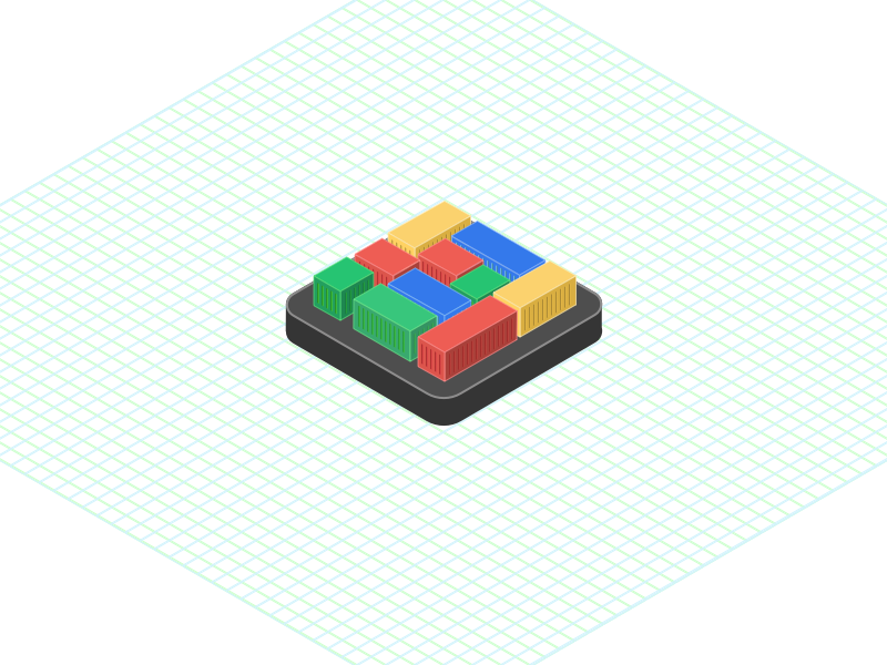 Isometric Grid Template