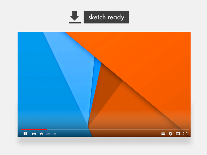 New YouTube Player Sketch freebie - Download free resource for