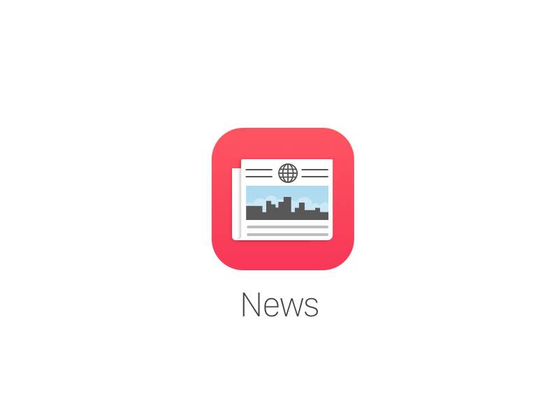 iOS 9 News Icon