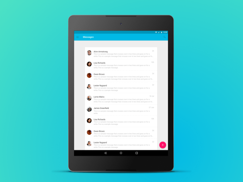 android material design ui kit sketch freebie - download free resource for sketch