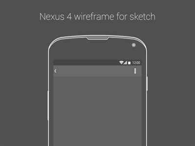 IPhone 6 Plus And Wireframe Sketch Freebie
