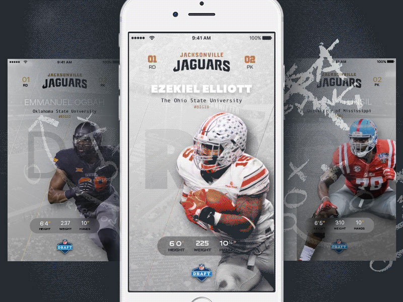 NFL Draft App and Principle Prototype