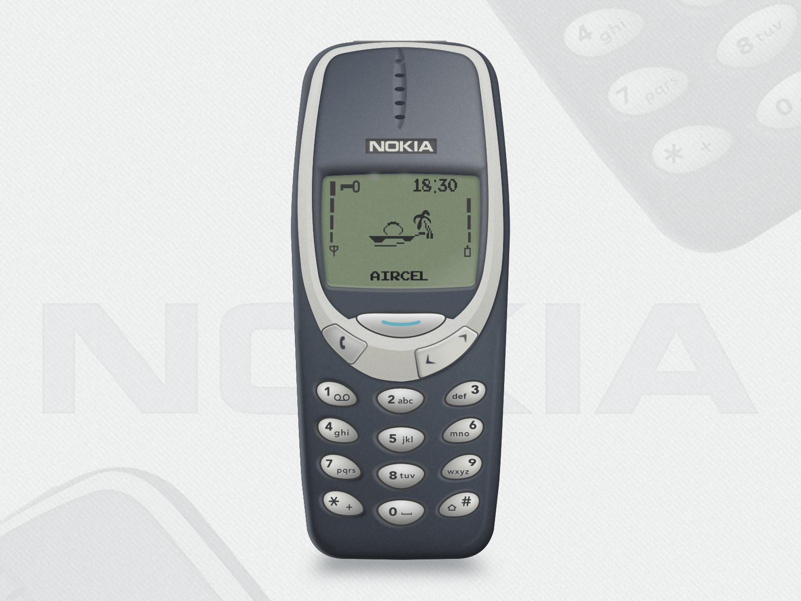 NOKIA 3310 Mockup Sketch freebie - Download free resource for Sketch