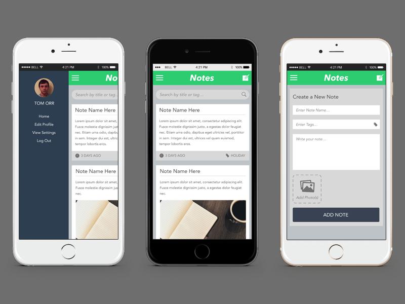 notes app sketch freebie download free resource for sketch