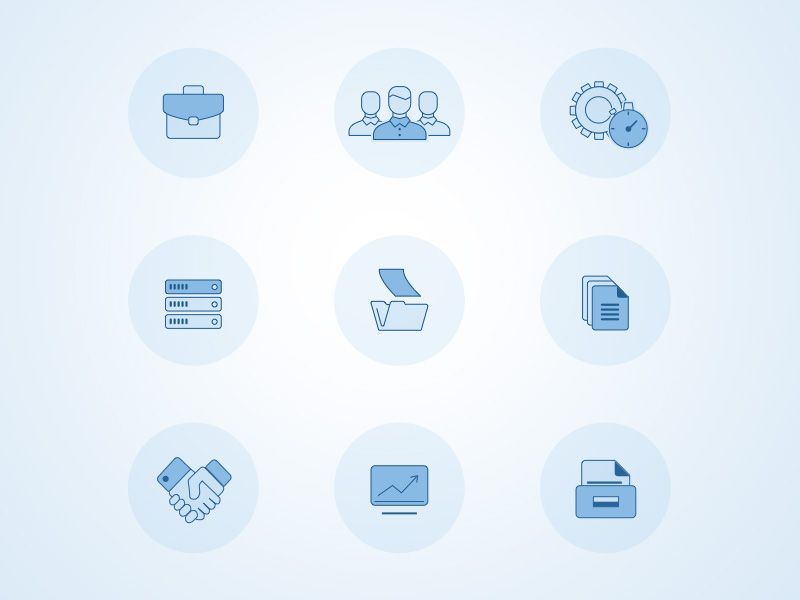 9 Office Icon