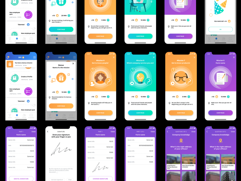 Gamification App Concept