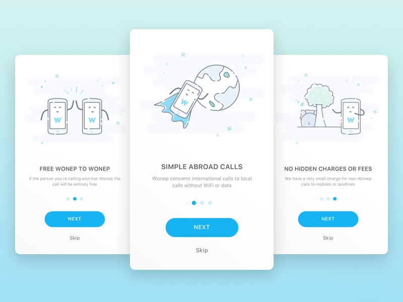 Onboarding Screen Illustrations Sketch Resource