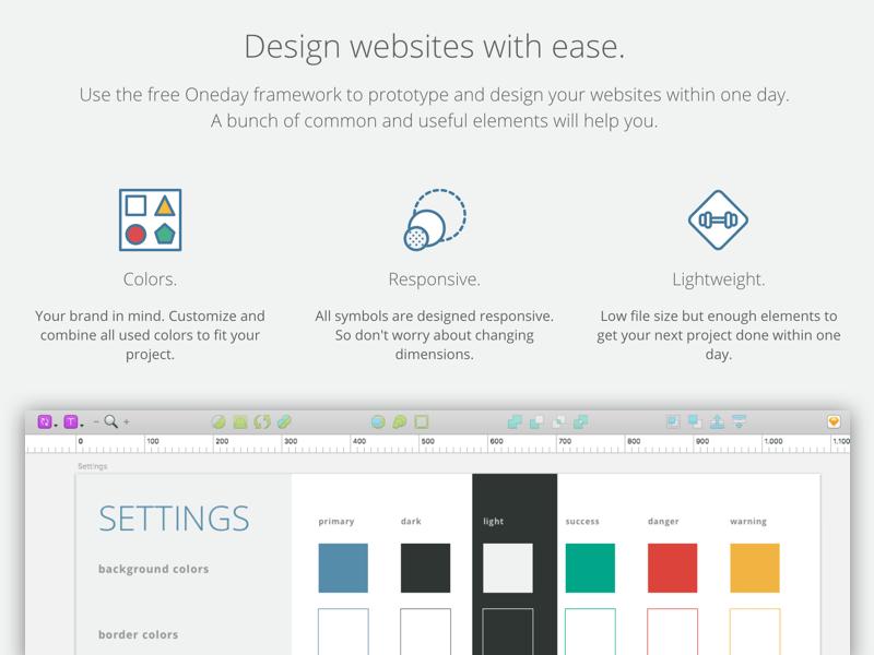 Frontend Design Framework Sketch freebie - Download free