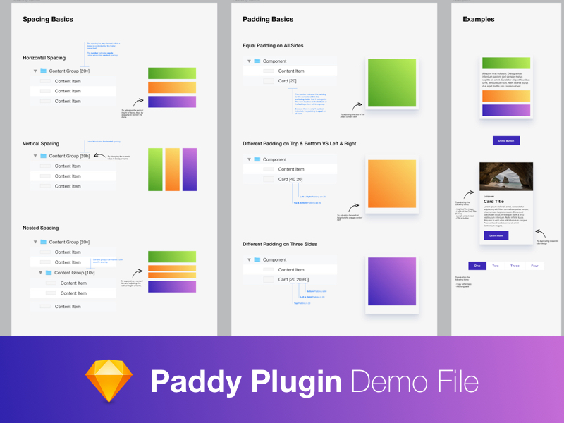 Paddy Plugin How-to Sketch freebie - Download free resource for