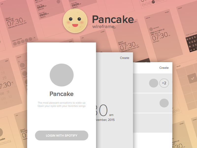 Pancake Wireframe Kit