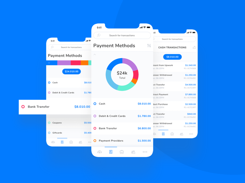 Payments Tracking App