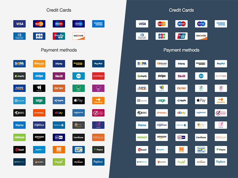 Ultimate Payment Icon Set Sketch Freebie Download Free