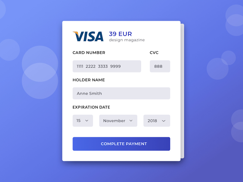 Payment View