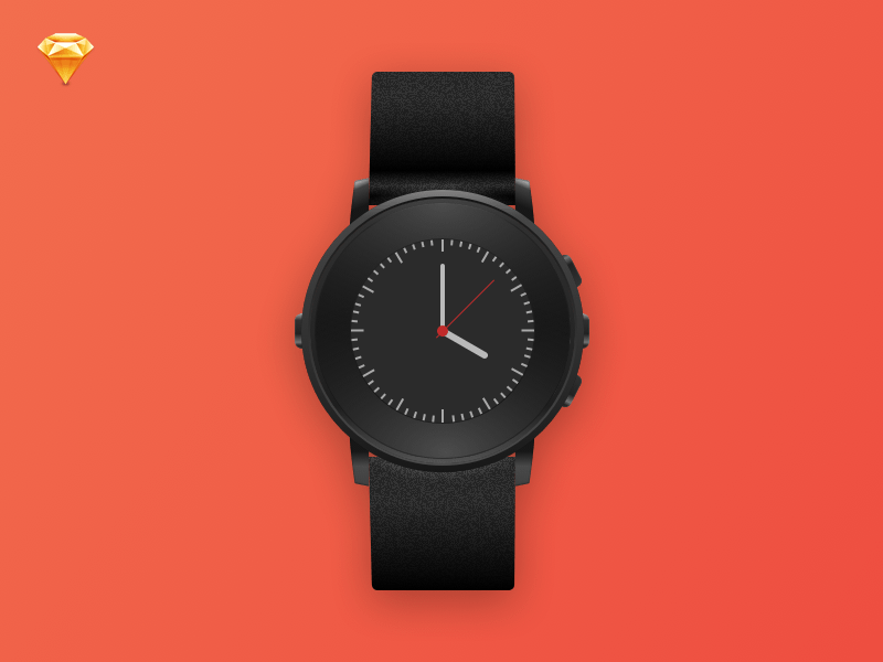 Pebble Time Round Template