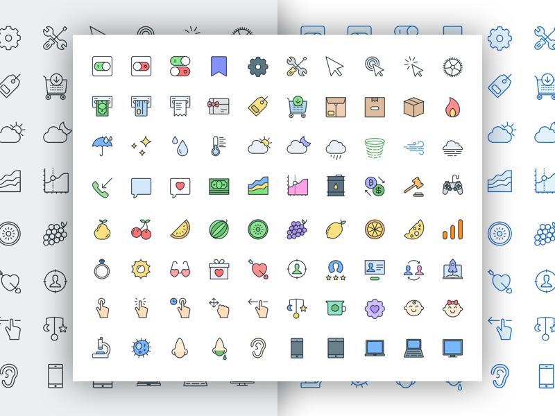 pioneer icons free sample
