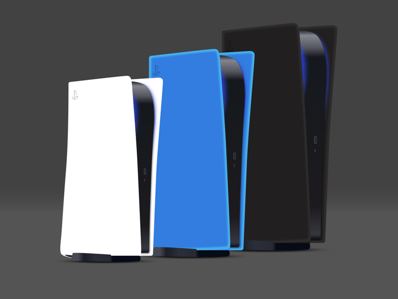 PlayStation 5 Mockup