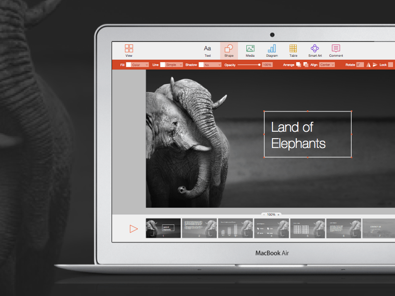 PowerPoint for Mac Redesign Concept