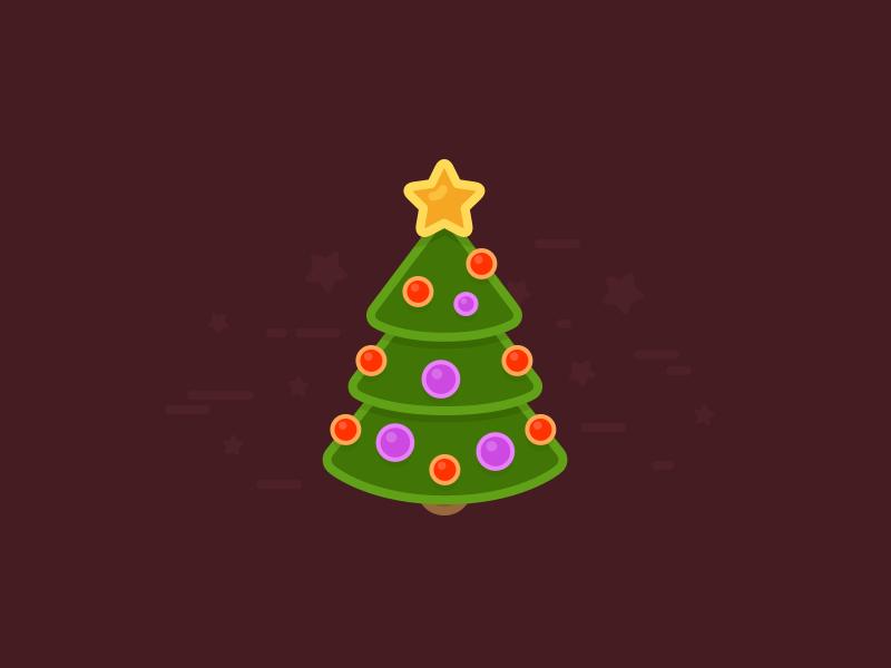 Christmas Tree Card Design Sketch freebie - Download free resource for Sketch - Sketch App Sources